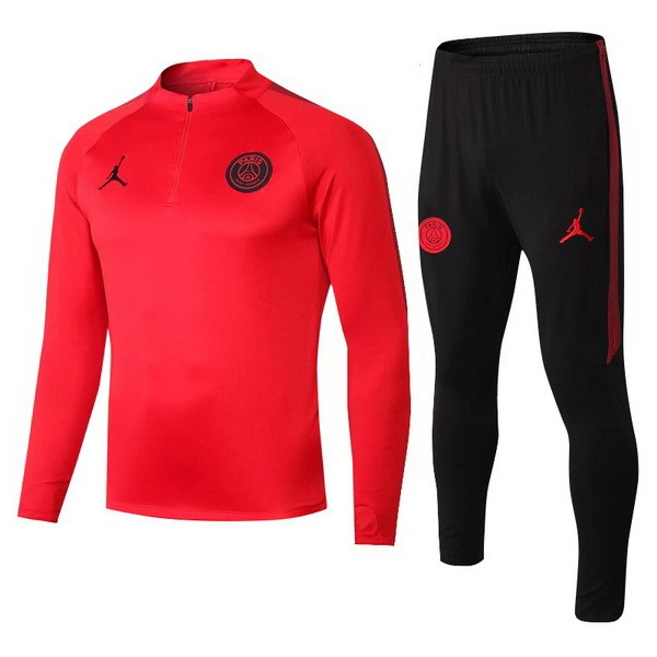 JORDAN Chandal Paris Saint Germain 2018/19 Negro Rojo