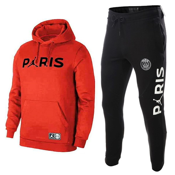 JORDAN Chandal Niños Paris Saint Germain 2018/19 Rojo Negro